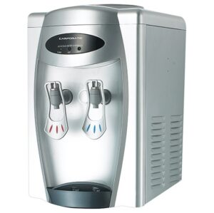 Campomatic Desktop Water Dispenser Glossy Silver CHW3070