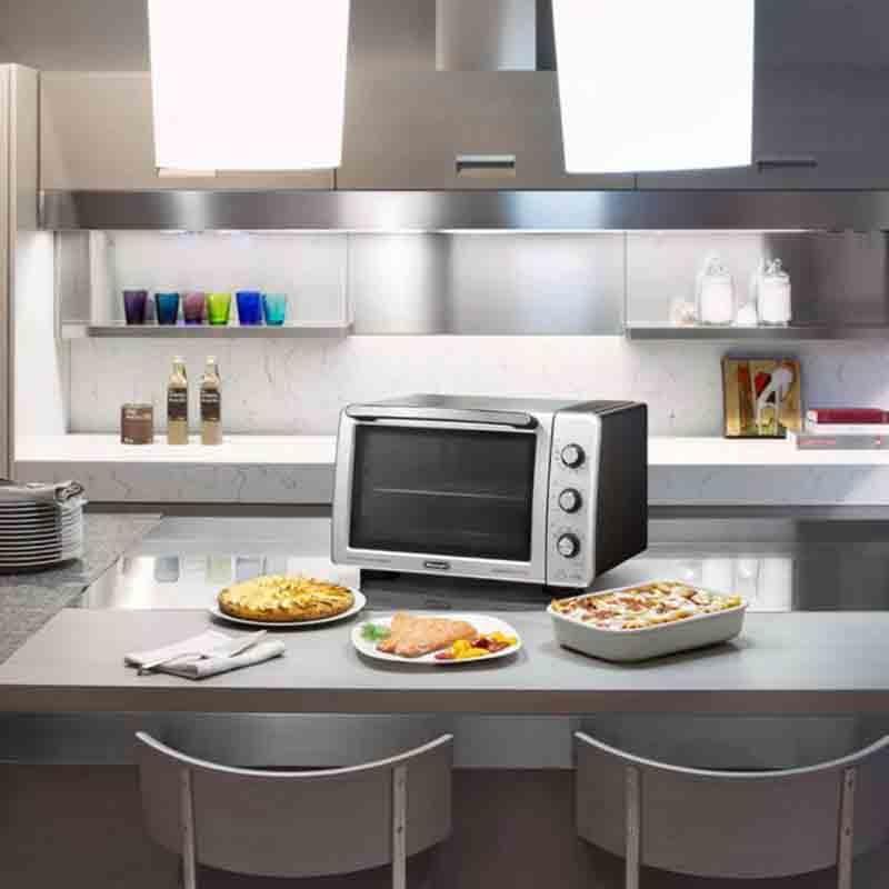 De'Longhi Sfornatutto Maxi Electrical Oven 32L Silver DKO-EO32602S 5