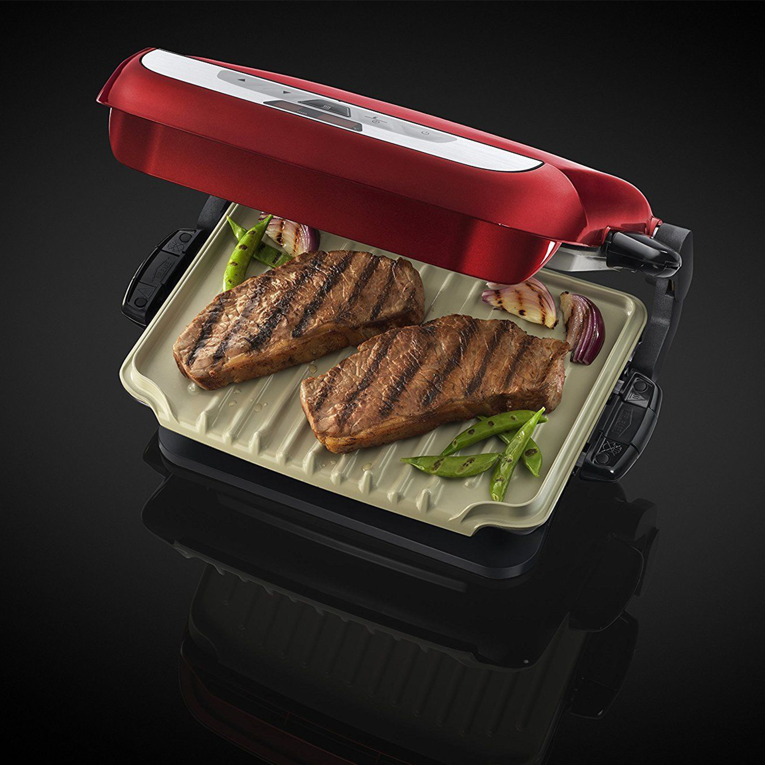 Russell Hobbs Evolve Red Grill 3