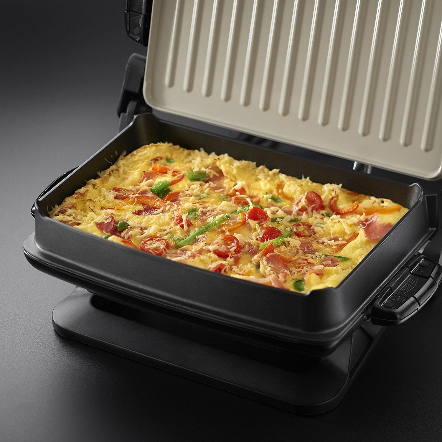 Russell Hobbs Evolve Red Grill 4
