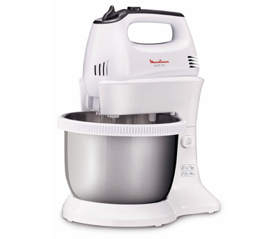 Moulinex Hand Mixer 3.5L Stainless steel Bowl HM3121B1