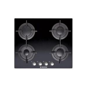 Hoover Gas Hob 60cm Black Glass Color HGV64SCB