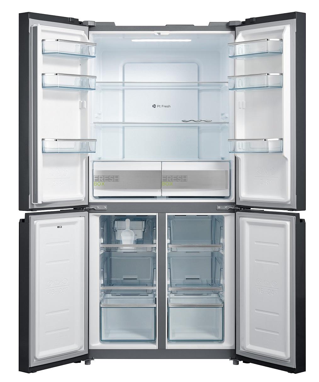 Midea Refrigerator 4 DOORS – 482L – No Frost HQ-627WENBG 2