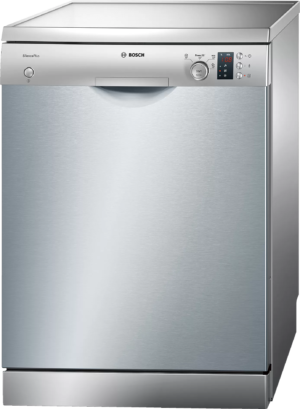 Bosch Serie | 4 free-standing dishwasher 60 cm Stainless steel lacquered SMS43D08ME