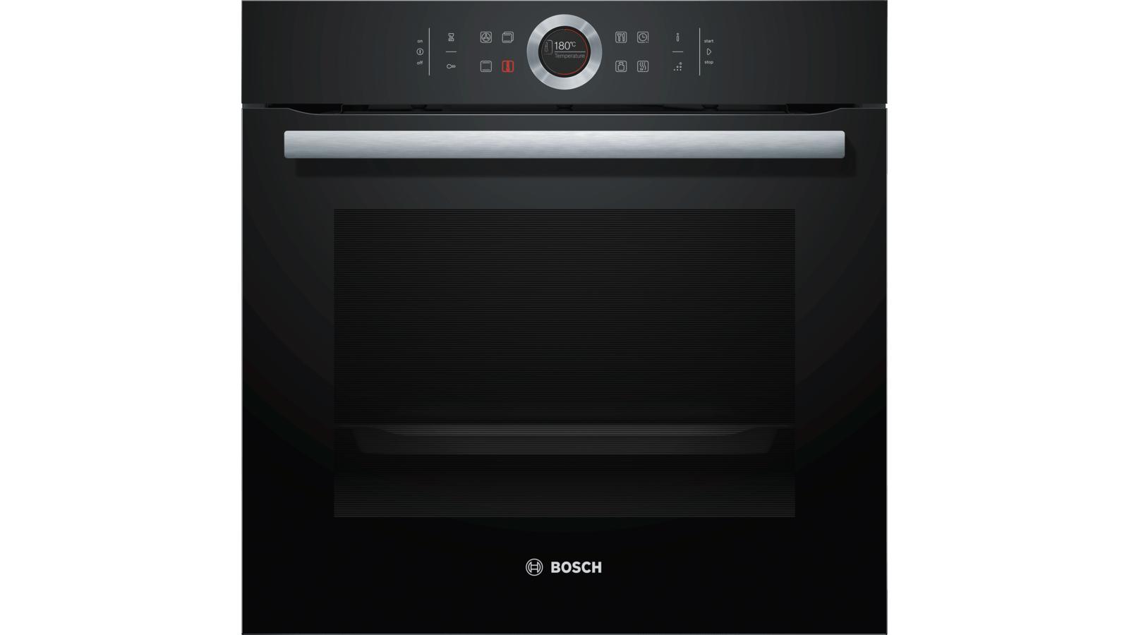 Bosch Serie | 8 Built-in oven Black HBG655NB1