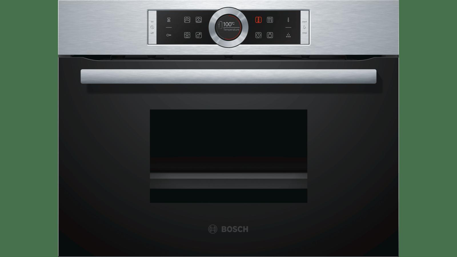 BOSCH Serie | 8 Built-in Steamer Stainless steel CDG634BS1