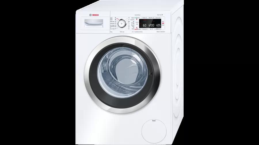 BOSCH Serie | 8 washing machine, frontloader fullsize 8 kg 1600 rpm WAW32560ME