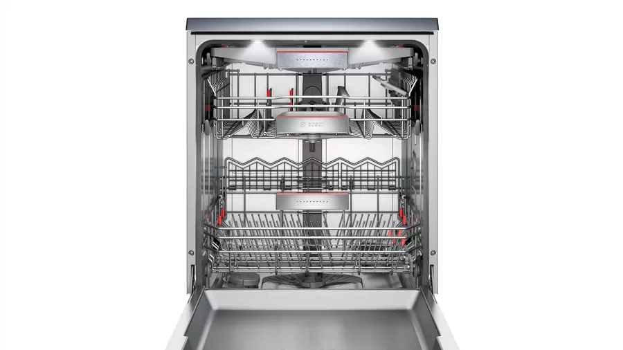 Bosch Serie   8 free-standing dishwasher 60 cm Stainless steel SMS88TI03T 4