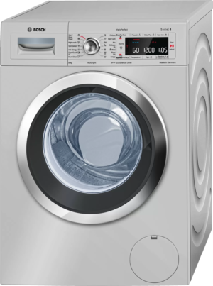 BOSCH Serie | 8 washing machine front loader full size 9 kg Inox-easyclean 1600 rpm WAW325X0ME