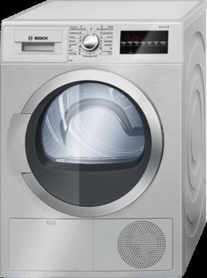 BOSCH Serie | 6 condenser tumble dryer 8 kg Inox-easyclean WTG8640XME