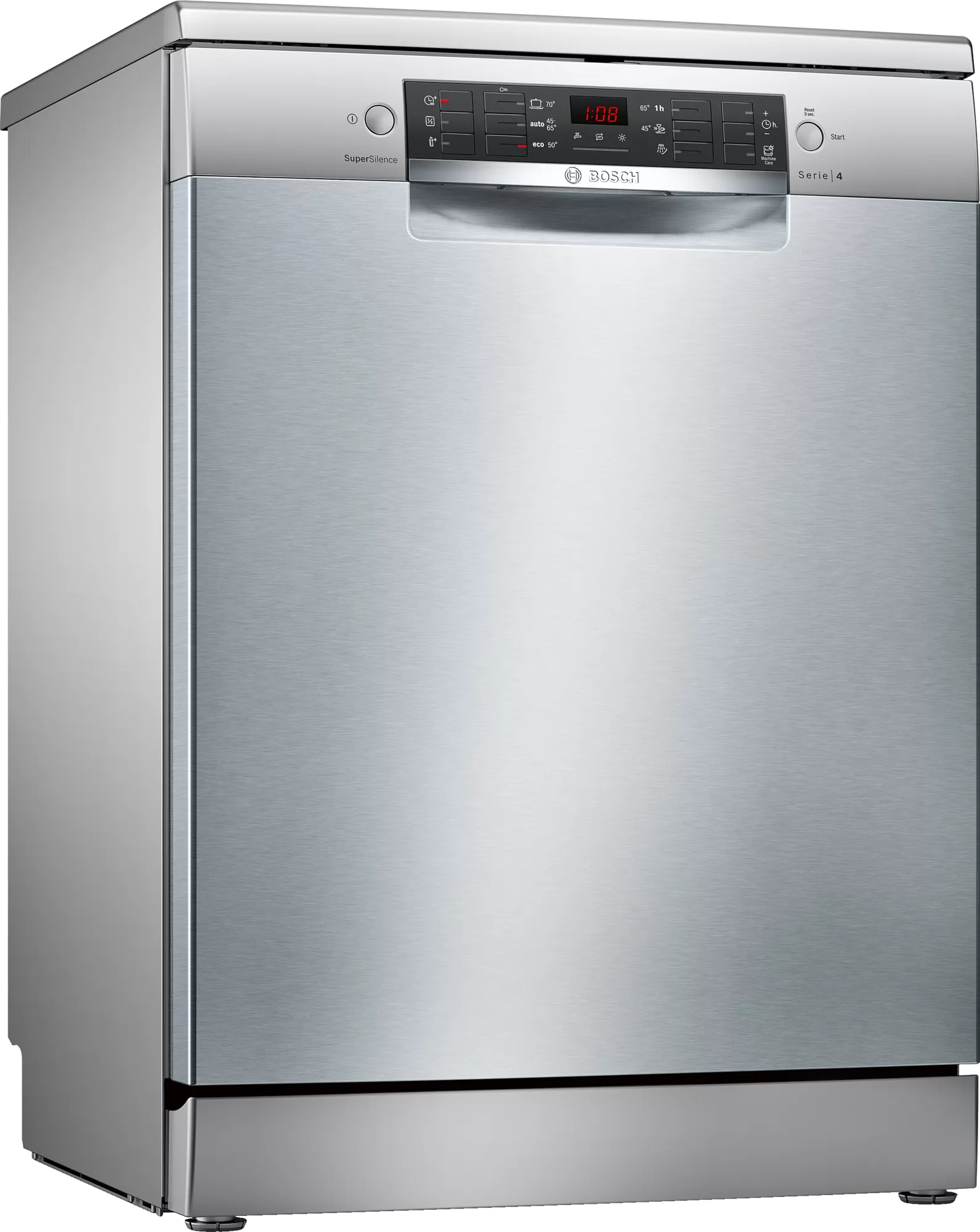 Bosch Serie   4 free-standing dishwasher 60 cm Stainless steel lacquered SMS46II10Q