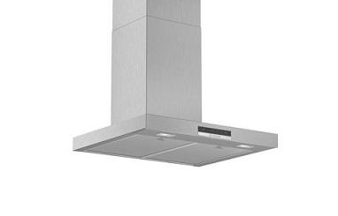 BOSCH Serie | 4 wall-mounted cooker hood 90 cm Stainless steel DWB96DM50