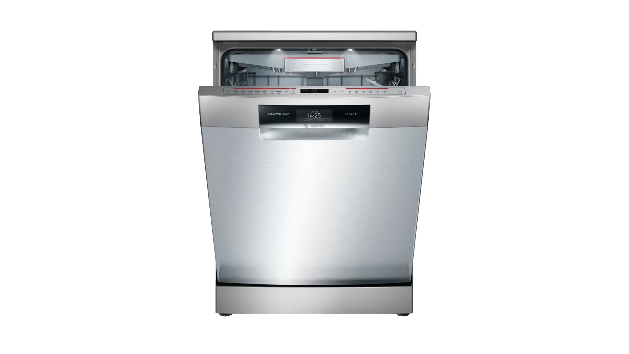 Bosch Serie   8 free-standing dishwasher 60 cm Stainless steel SMS88TI03T 2