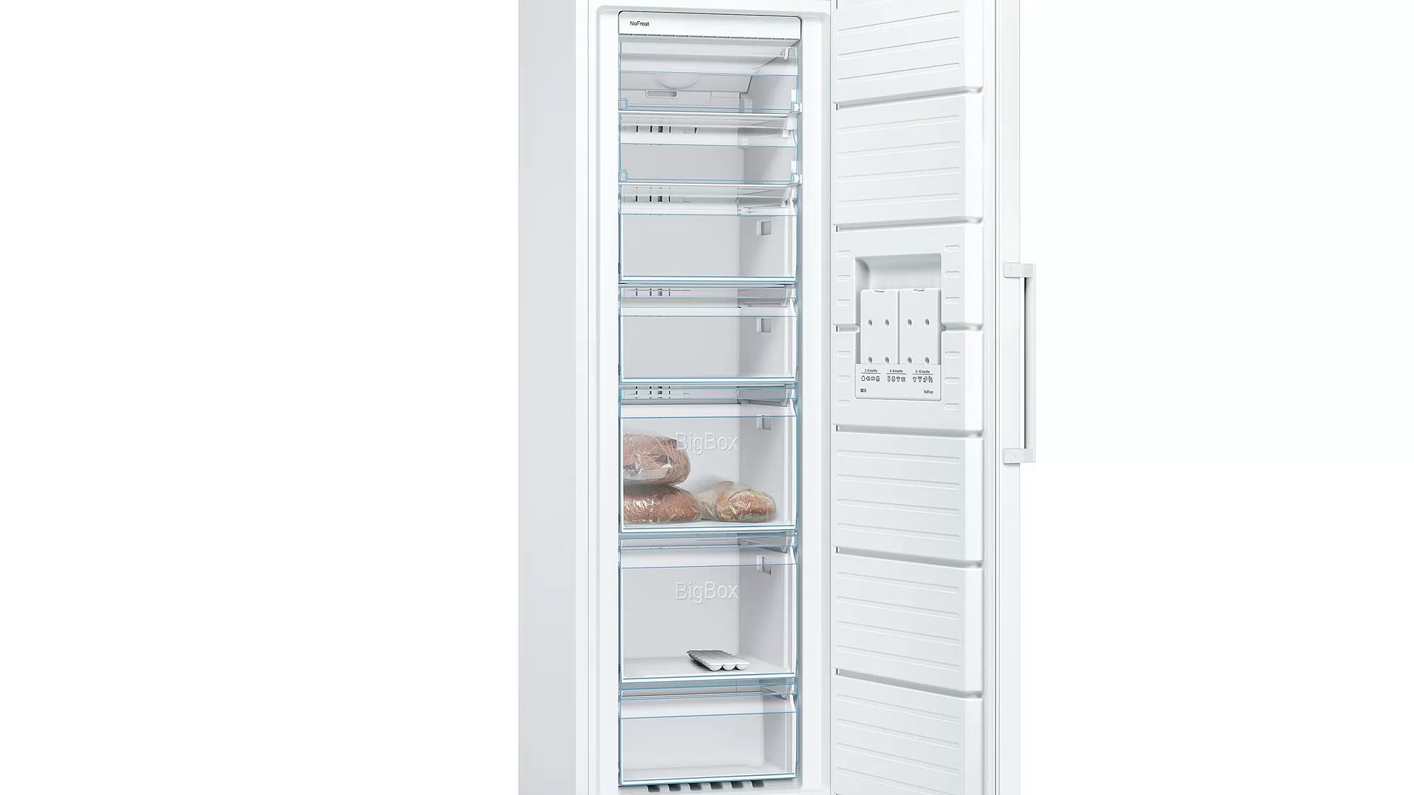 BOSCH Serie   4 free-standing freezer186 x 60 cm White GSN36VW31U 5