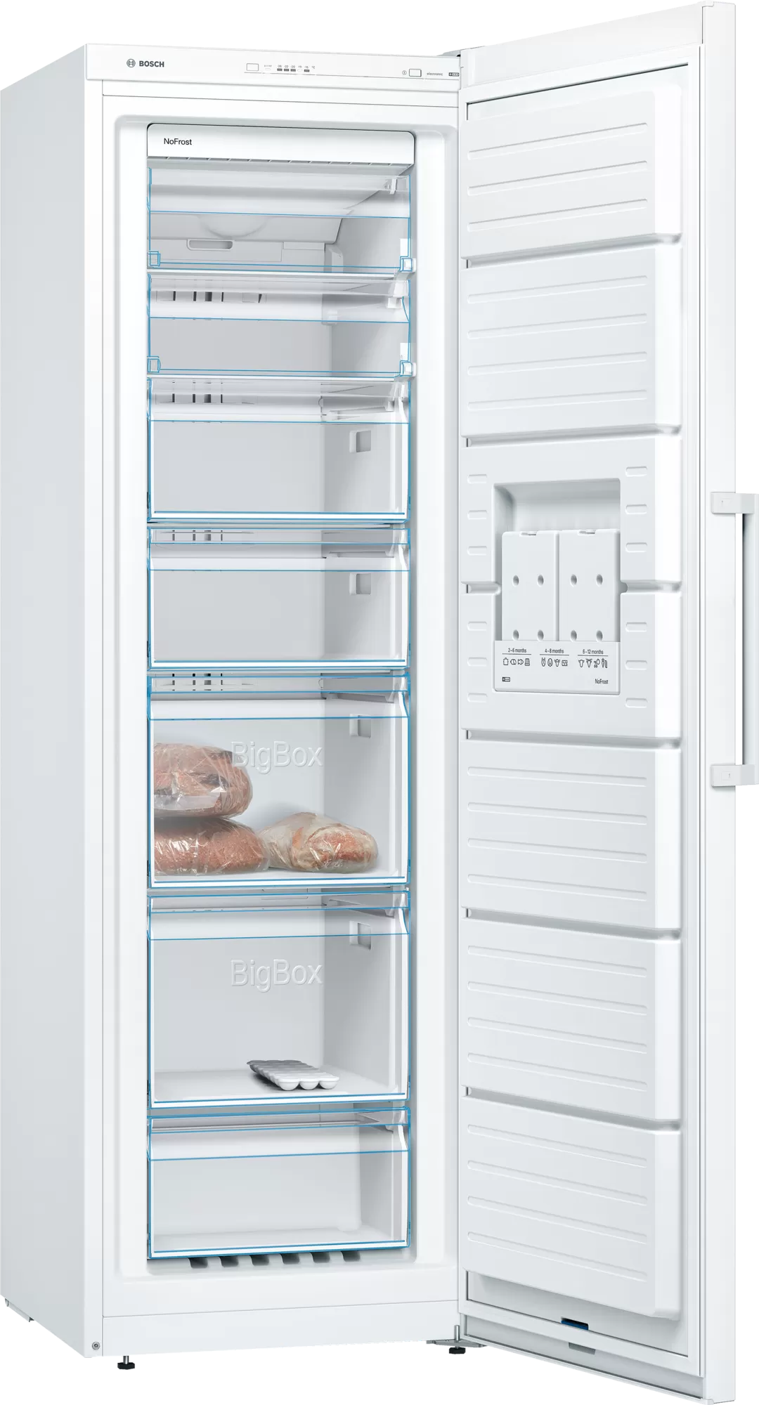 BOSCH Serie   4 free-standing freezer186 x 60 cm White GSN36VW31U 2