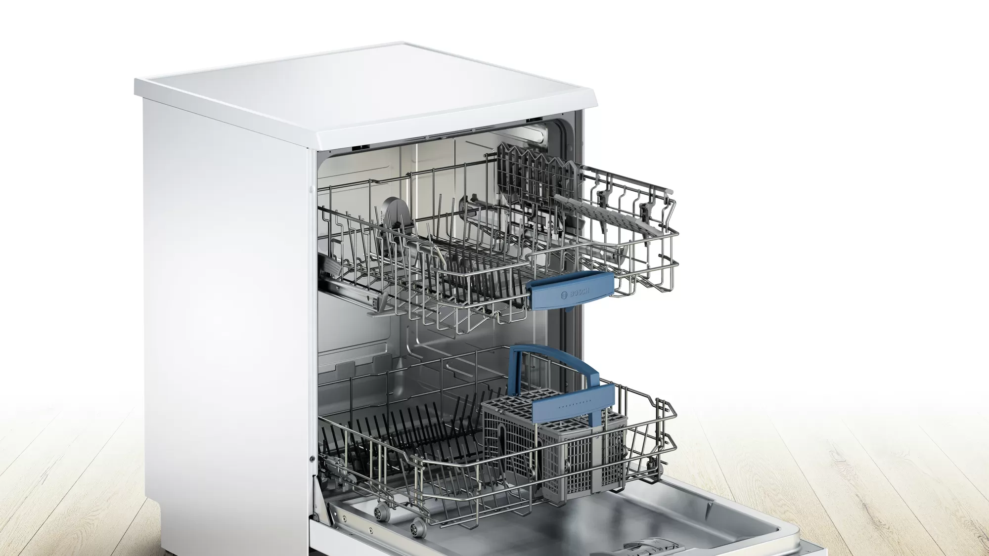 Bosch Serie | 4 free-standing dishwasher 60 cm White SMS43D02ME 3