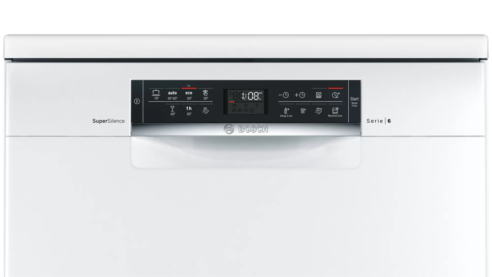 Bosch Serie | 6 free-standing dishwasher 60 cm White SMS67NW10Q 2