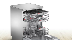 Bosch Serie | 6 free-standing dishwasher 60 cm Stainless steel, lacquered SMS67NI10Q