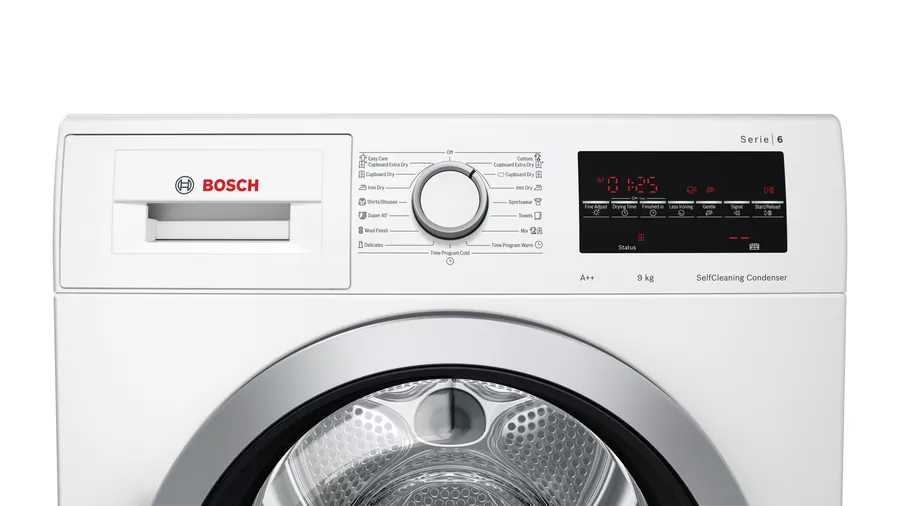 BOSCH Serie | 6 heat pump dryer 9 kg WTW85461BY 6