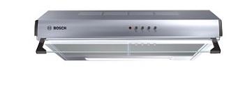 BOSCH Serie   4 built-under cooker hood 60 cm Stainless steel DHU665CQ