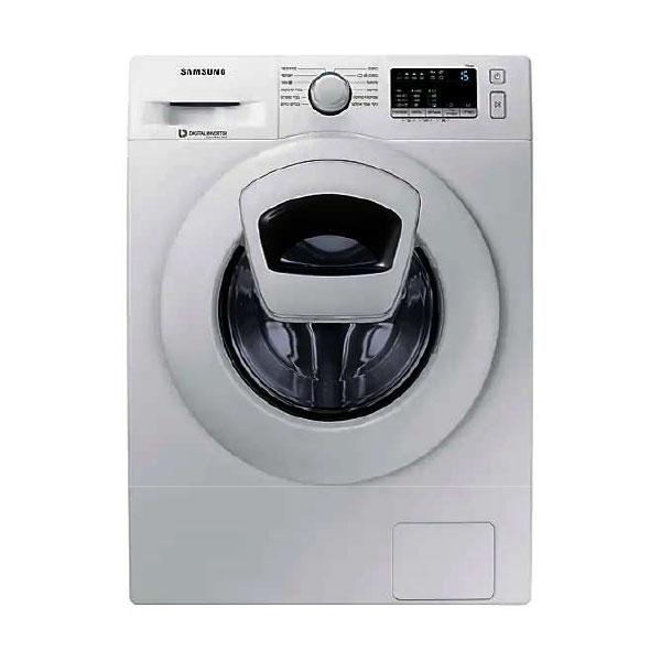 Samsung Front Loading 7kg Washing Machine, Add Wash, White