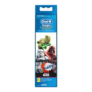 Oral-B stages Kids Brush head replacement Star Wars 2pck EB10 2K