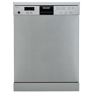 Sharp Dish Washer 60X60CM QW-V612-SS3