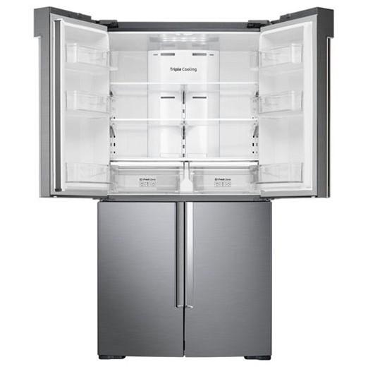Samsung Four door refrigerator, Tripple Cooling, Digital Inverter, 662 Liters – RF66M9091SL/LV 2
