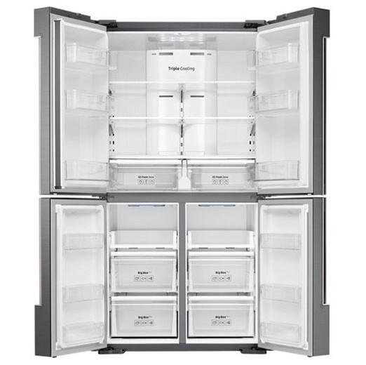 Samsung Four door refrigerator, Tripple Cooling, Digital Inverter, 662 Liters – RF66M9091SL/LV 3