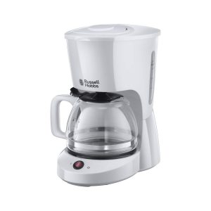 Russell Hobbs Textures Drip Coffee Maker 1.25L 10 Cups – White