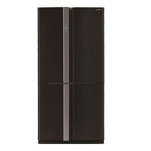 Sharp 4 Doors Refrigerator Black 724L SJFP85VBK3
