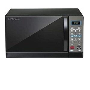Sharp Microwave Oven 25-Liter Black R75MRK
