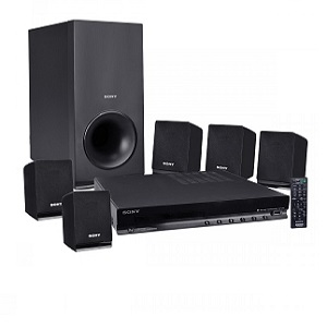 Sony DVD Home Theater System, 5.1CH Surround Sound, DAV-TZ140