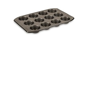 Tefal Muffins Tray Easy Grip Gold J1625745