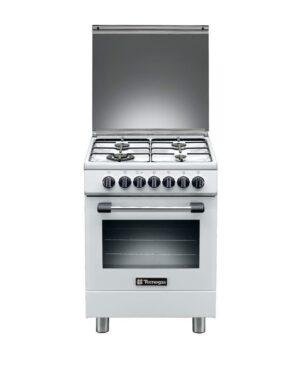 Tecnogas, Cooker 60cm White T664W / P3664GW