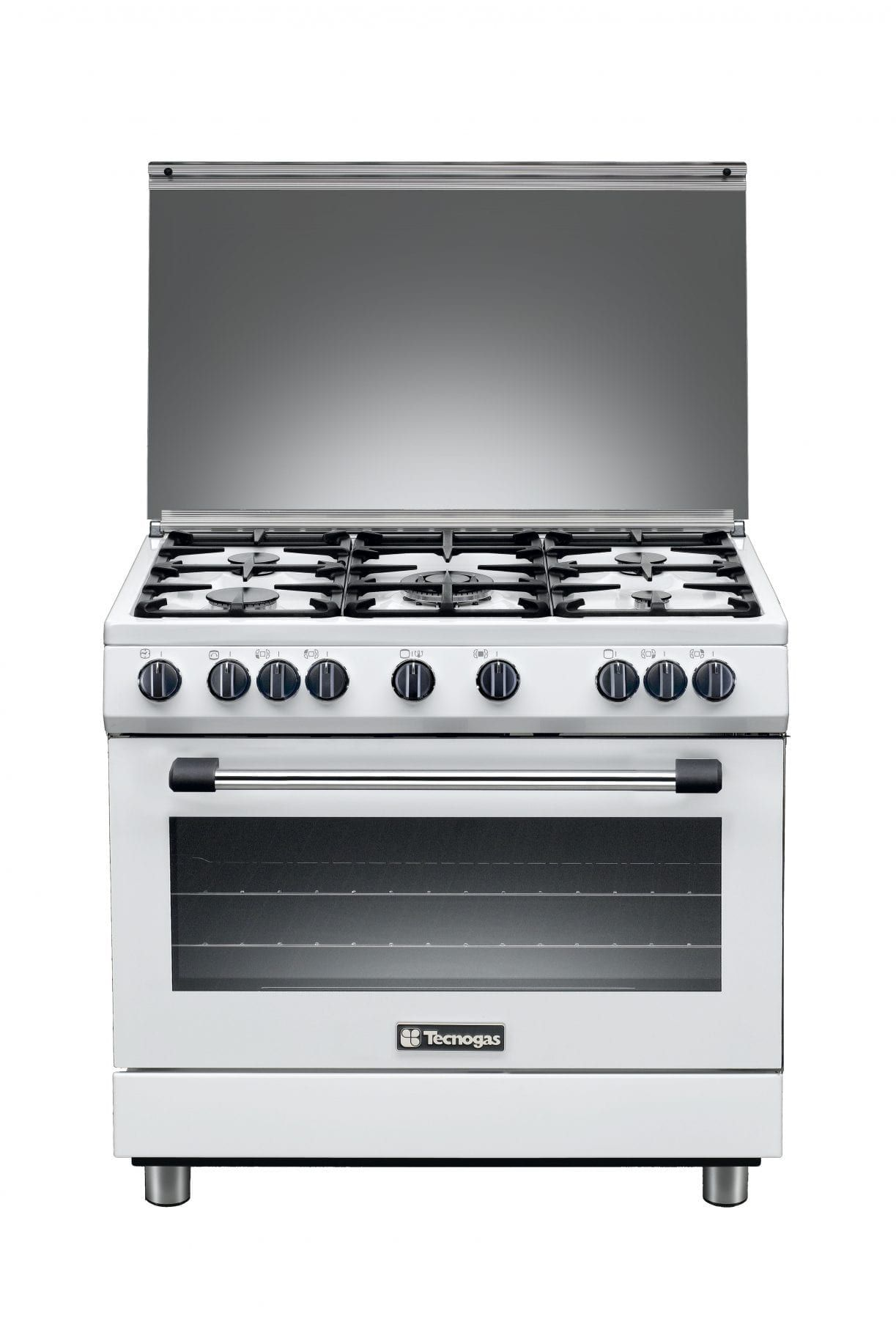 Tecnogas Cooker 90cm Copper Burners Stainless Steel T965X / N3965GX