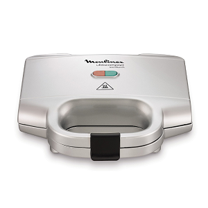 Moulinex Sandwich & Waffle Maker Ultra Compact SM156140