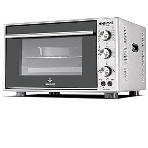 Itimat Tabletop Electric oven 50L Silver I-28TTFLSV