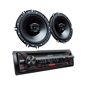 SONY CD RECEIVER WITH 16CM SPEAKERS CXSG1216U