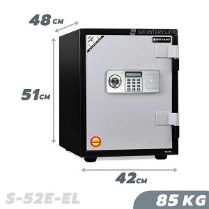 SALVADO Safe S 52E EL 85KG Fireproof Home And Business Safe Box
