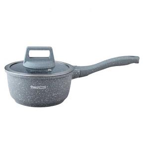 Royal Gourmet Saucer Pan With Glass Lid 16 cm SP16