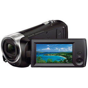 Sony Handycam 1080p Camcorder with 32GB SD Card and Accessory Bundle HDR-CX405