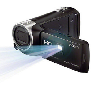 SONY Handycam with Built-in Projector HDR-PJ410