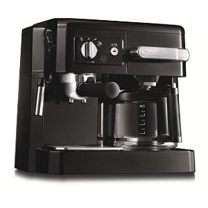 De'Longhi Combi Espresso Cappuccino & Filter coffee maker DKE - BCO410B