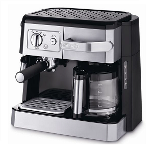 De'Longhi Combi Espresso Cappuccino & Filter coffee maker DKE - BCO420