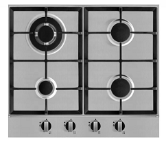Campomatic Built-In Hob 60CM Stainless Steel C64XBCI