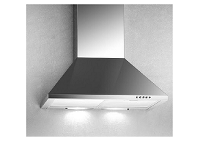 Campomatic Chimney Hood 90CM Glass And Stainless K290CW