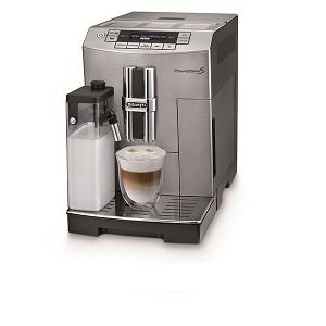 De'Longhi Digital display full automatic machine with Electronic personalized memory DKE-ECAM28465M