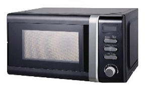 Campomatic microwave Black KOR23MB