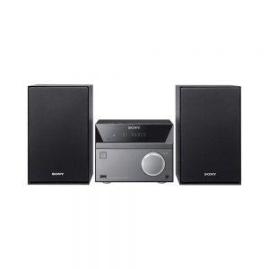 Sony 50W Bluetooth Hi-Fi System with CD and FM Radio Black/Grey CMT-SBT40D